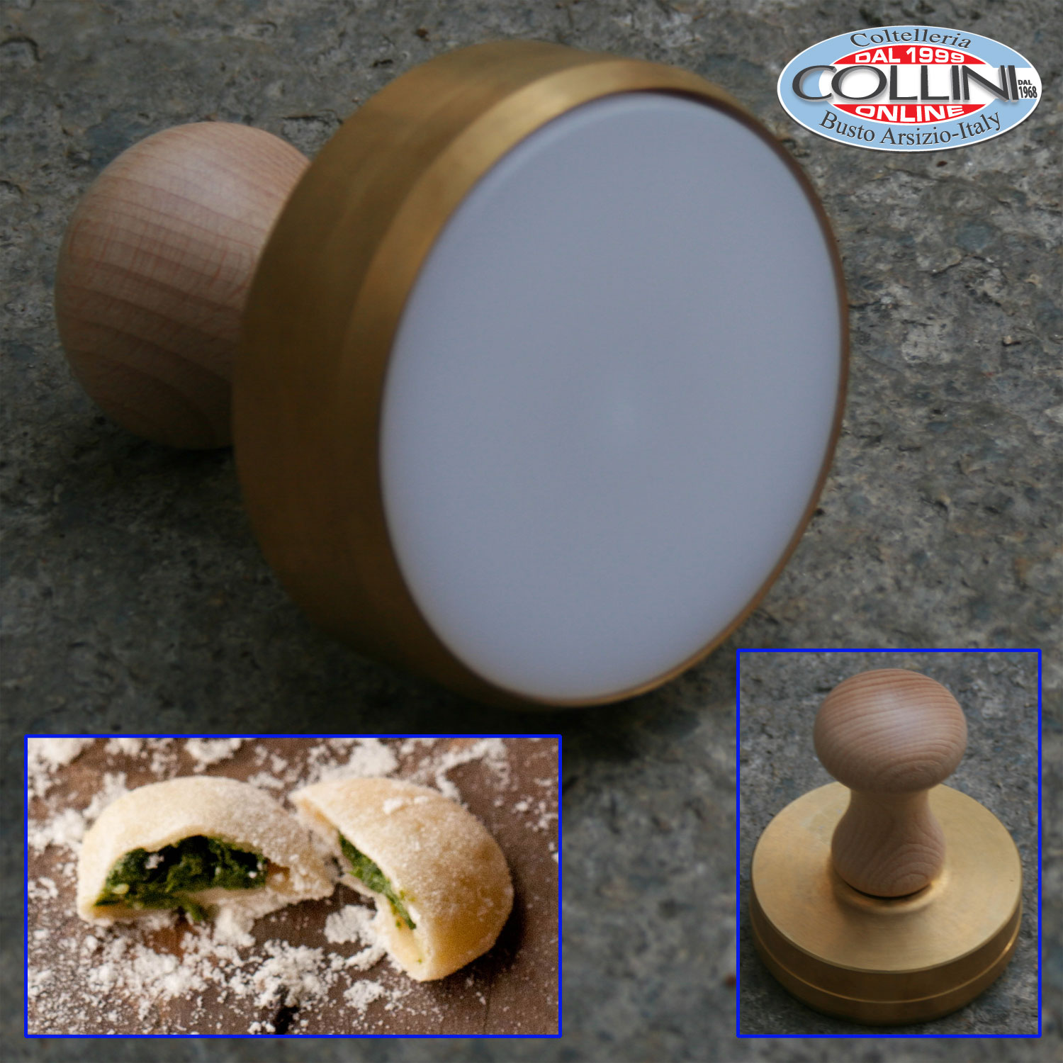 From Musty To Must See Kitchen: Stampo Liscio Per Anolini 8 Cm.- Cucina