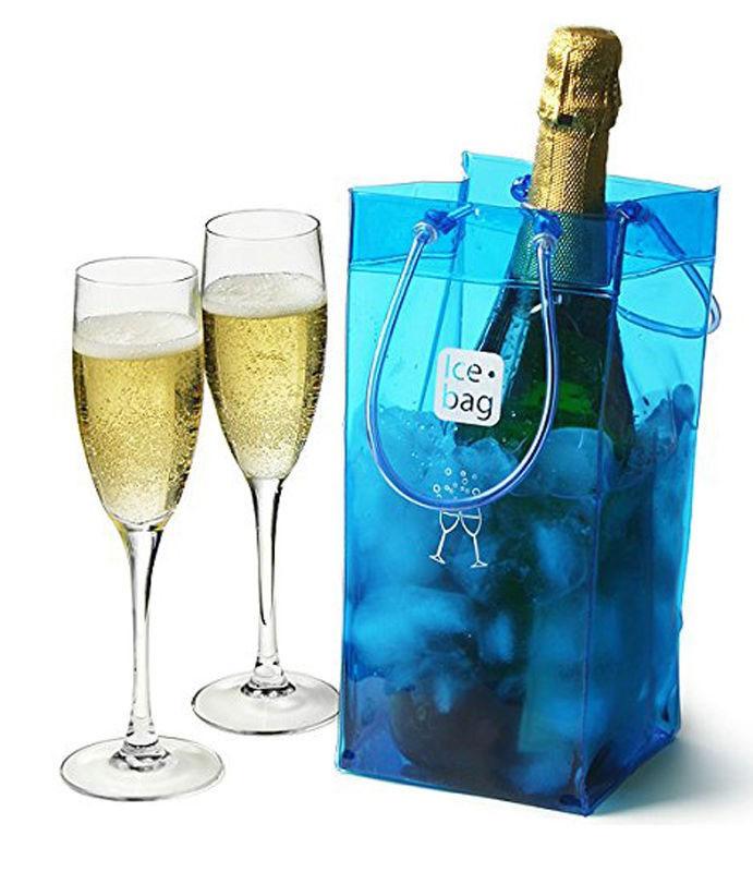 Ice bag porta bottiglie rinfrescatore articoli casa - Portaghiaccio per bottiglie ...