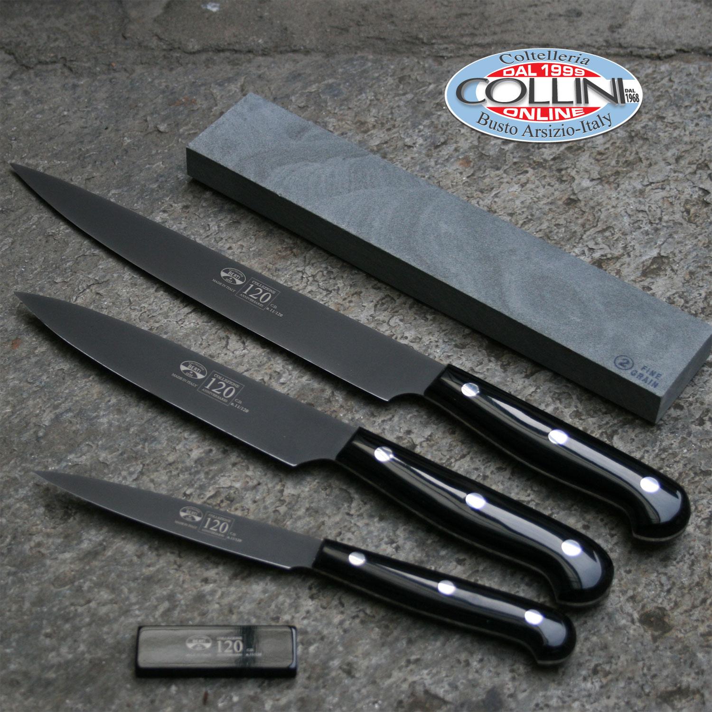 Berti cofanetto 120 set di 18 coltelli a tiratura - Kit coltelli da cucina ...