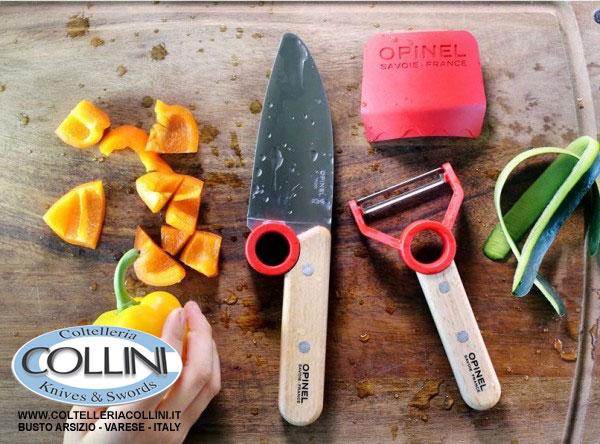 Opinel la collezione le petit chef coltelli cucina for Coltelli da tavola opinel