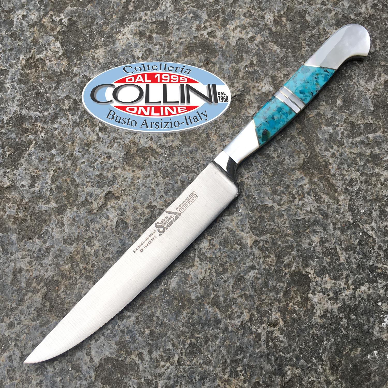Santa fe 39 stoneworks set 4 coltelli con inserti in - Coltelli da tavola tramontina ...