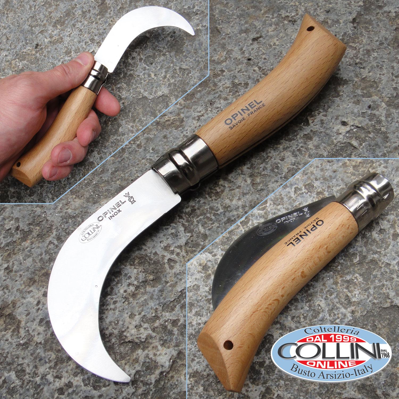 Opinel serpette roncola lama inox coltello for Coltelli da tavola opinel