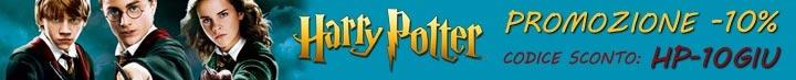 Sconto 10% su tutti i prodotti Harry Potter