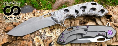 Olamic Knives, custom knife, couteaux, couteau