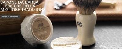 Rasoi, shavette, pennelli, creme da barba
