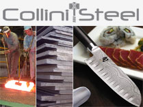 Collini Steel, acciaio laminato giapponese, Takefu Steel, acciai speciali