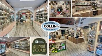 Coltelleria Collini, knives, knives, swords, flashlights