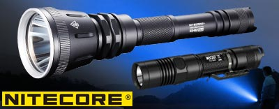 Torce a led, Fenix Light, Nitecore, torcia tattica, torcia, vendita