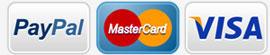 Pagamenti accettati, PayPal, PostePay, Contrassegno, Bonifico, Carta di Credito