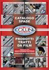 Catalogo spade e prodotti tratti da film della Coltelleria Collini