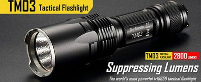 LED flashlights, Fenix ​​Light, Nitecore, Jetbeam, tactical flashlight, military flashlight, flashlight hunting, sale